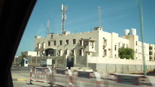 View from a car of Police Station Number One in Hurghada Egypt where Briton Laura Plummer is being detained on charges of drug smuggling