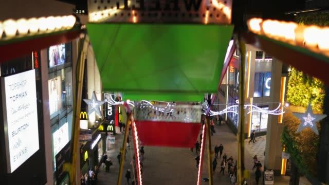 観覧車からの眺め - 遊園地点の映像素材/bロール