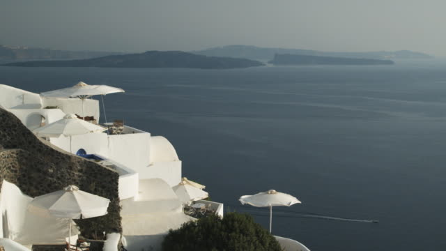 view from a Mediterranean resort