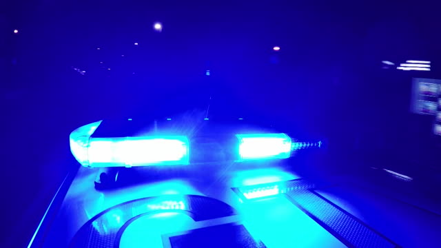 view from a police car on patrol in london at night - flash stock videos & royalty-free footage