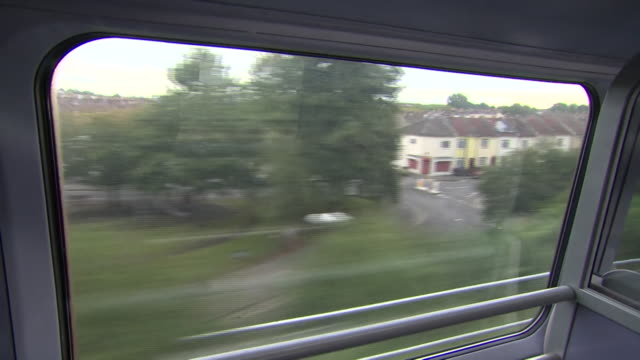 view from a train window - compartment stock videos & royalty-free footage