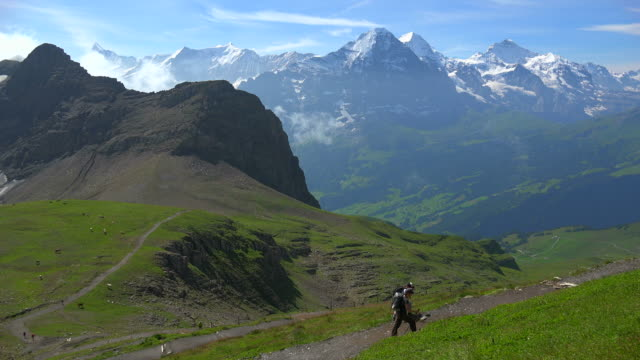 View from Faulhorn to Bernese Alps, Grindelwald, Bernese Alps, Switzerland