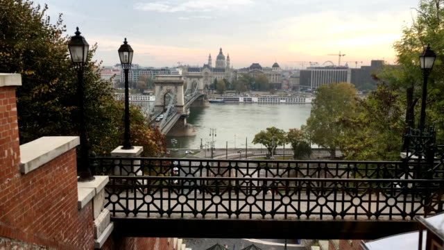 View from Funicular of Budapest