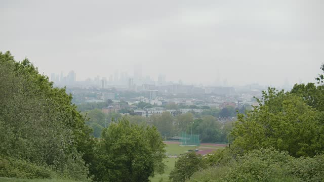 view from hampstead heath - british royalty stock videos & royalty-free footage