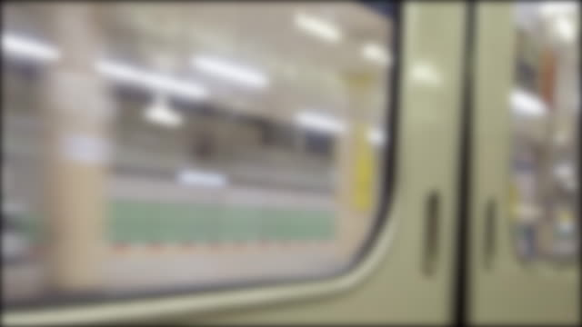 4k view from inside train - underground train stock videos & royalty-free footage