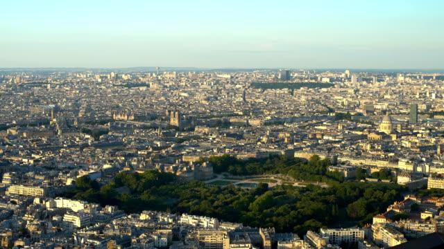 vidéos et rushes de vue de paris, panoramique - panoramique