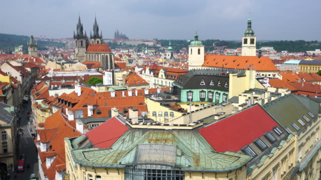 View from Powder Tower in Prague