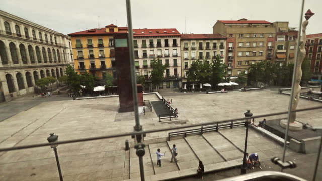 View from Reina Sofia museum elevator