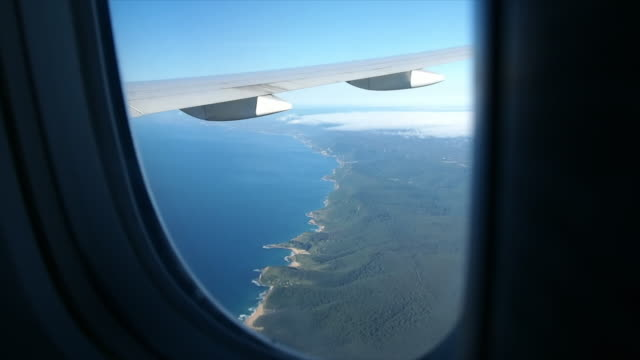 View from the airplane window