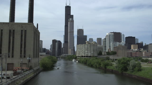 A View From The Chicago River