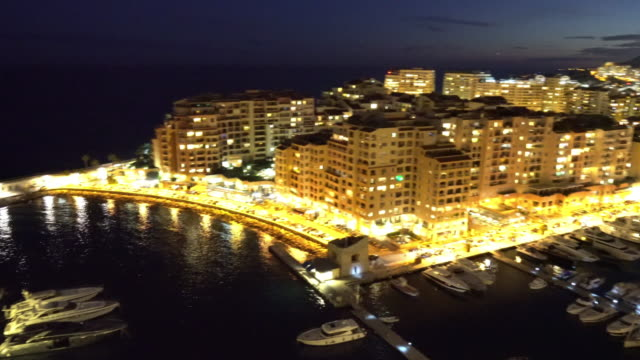 View from the Monaco village