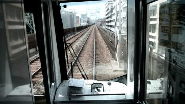 vídeos de stock, filmes e b-roll de vista da janela de muit - ponto de vista de bonde