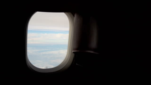 view from the window on the plane - air vehicle stock videos & royalty-free footage
