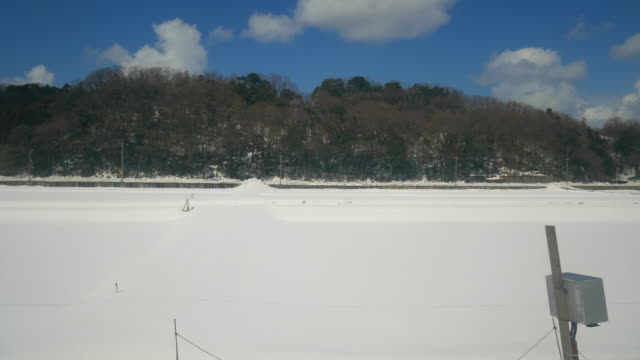 view from train kanazawa station - kanazawa stock videos and b-roll footage