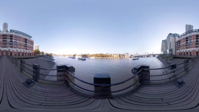 A 360VR view from Westminster Jetty