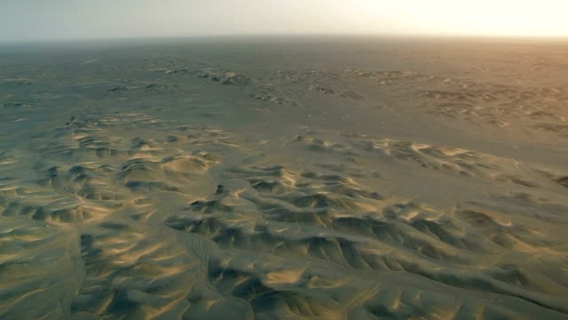 空中ビューゴビ砂漠、新疆、中国。 - 荒野点の映像素材/bロール