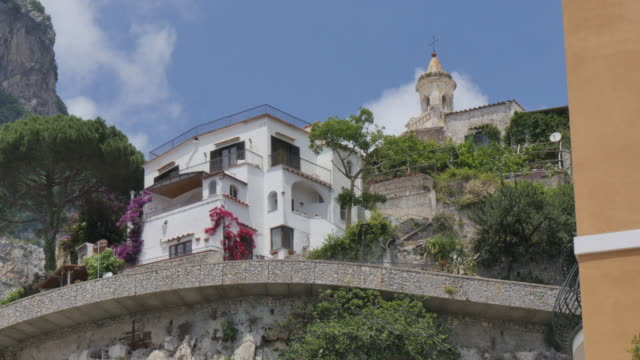 View inland, Costiera Amalfitana (Amalfi Coast), UNESCO World Heritage Site, Province of Salerno, Campania, Italy, Europe