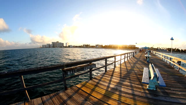 HD: View Into Land From A Pier