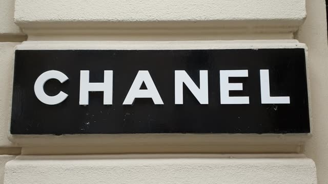 FRA: Chanel's Boutique At Rue Cambon In Paris