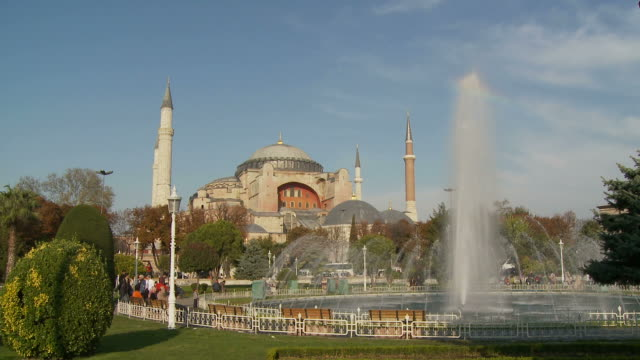 View of a Mosque in Istanbul Turkey