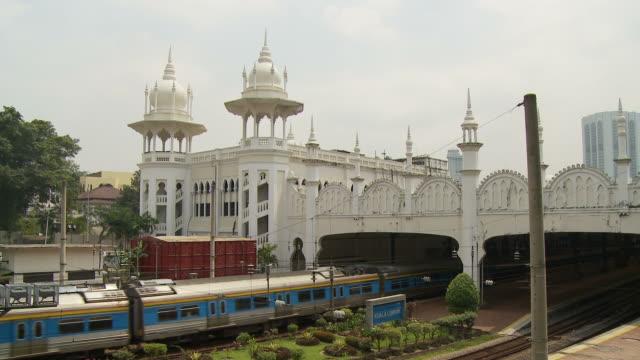 View of a railway station in Kuala Lumpur, Malaysia