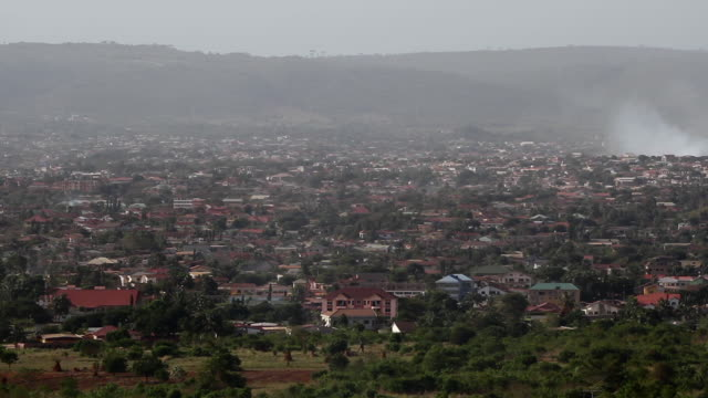 A view of a residential district in Accra, Ghana 2
