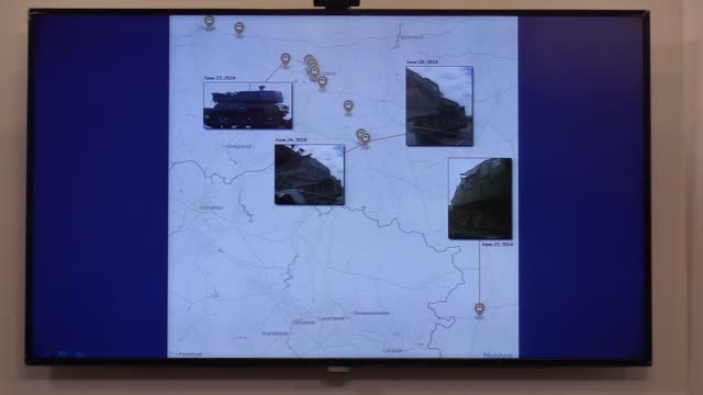 UKR: Presentation of the Bellingcat group investigation of the Malaysia Airlines MH17 plane accident in Kiev