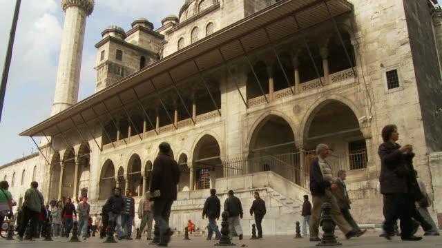 vídeos y material grabado en eventos de stock de view of a street in istanbul, turkey - religión