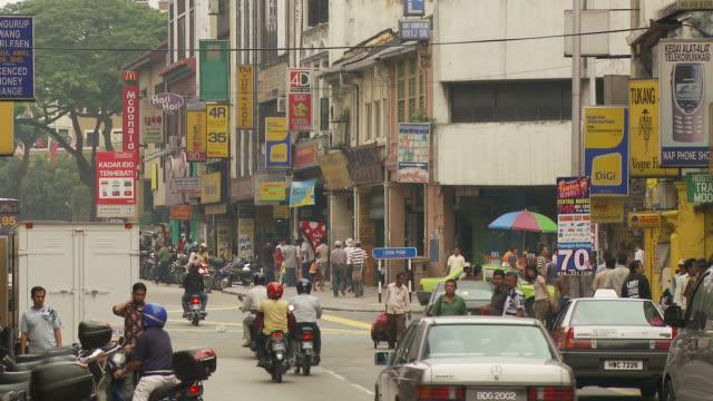 stockvideo's en b-roll-footage met view of a street in kuala lumpur, malaysia - kuala lumpur