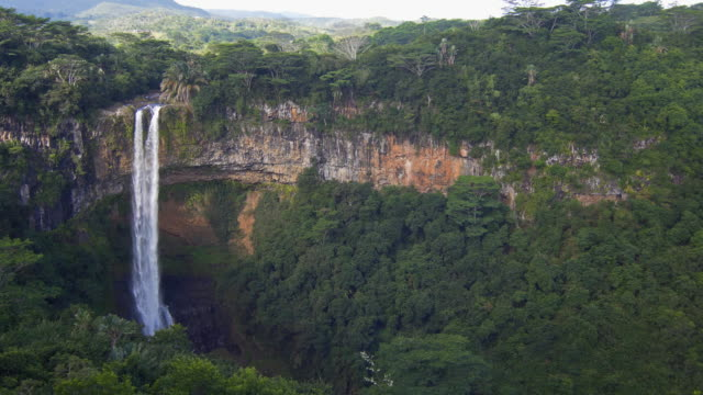view of a tropical waterfall - mgost stock videos and b-roll footage