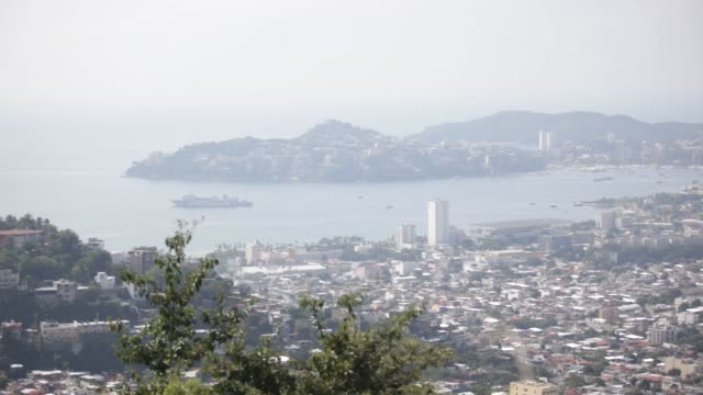 A view of Acapulco Guerrero Mexico from the Colonia Alta Progreso Wednesday November 18 2015 Acapulco is one of Mexico's best known beach resorts...