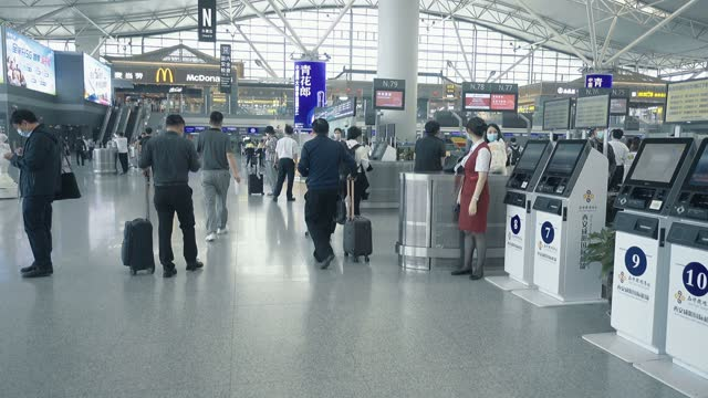 view of airport,xi'an,china. - building entrance stock videos & royalty-free footage