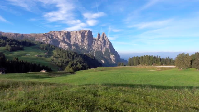 view of alpe de suisse italy - alpi video stock e b–roll