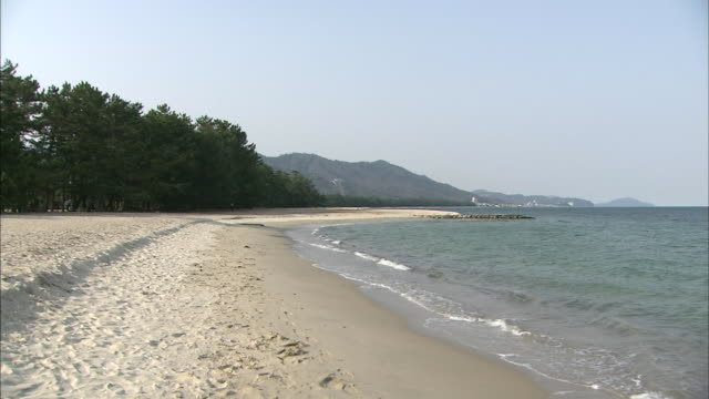 view of amanohashidate - audio available stock videos & royalty-free footage
