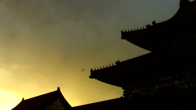 A View of Ancient Architectures in Forbidden City