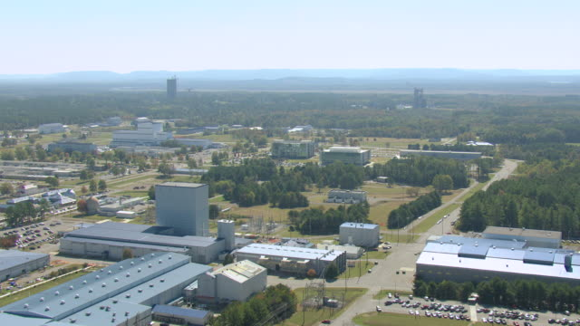 WS AERIAL View of approach NASA Marshall Space Flight Center / Huntsville, Alabama, United States