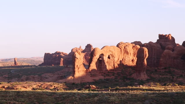 WS View of Arches National Park / Utah, United States