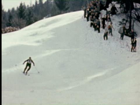 MS View of Arlberg-Kandahar skiing race  Audio / Germany
