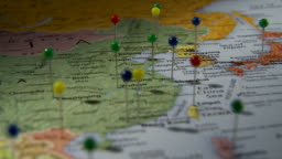 Cu pan view of asia in world map atlanta georgia usa stock footage view all gumiabroncs Image collections