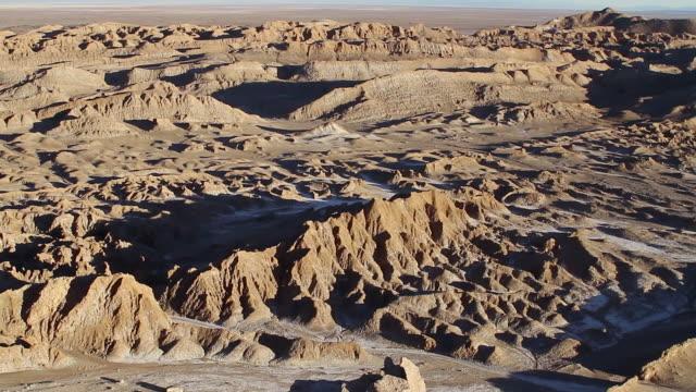WS TU View of Atacama desert valley / Angostura, Chile