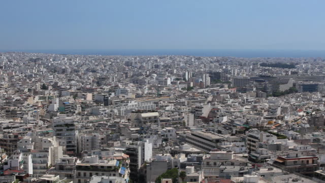 WS HA PAN View of Athens from Acropolis / Greece