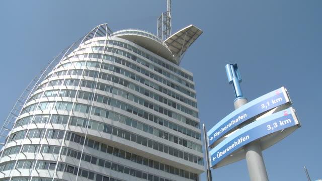 WS View of Atlantic hotel sail city / Bremerhaven, Breman, Germany