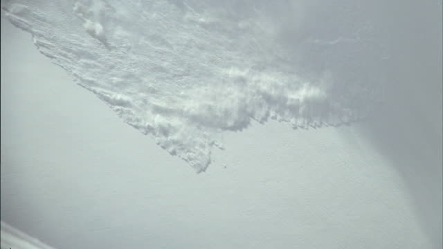 ws zi zo view of avalanche to juneau mountains / juneau, alaska, usa - avalanche stock videos and b-roll footage