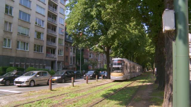 WS View of Avenue Albert / Brussels, Brussels Capital Region, Belgium