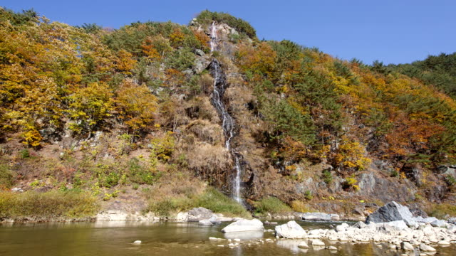 View of Baekseok Pokpo Falls (Popular driving routes in Korea)