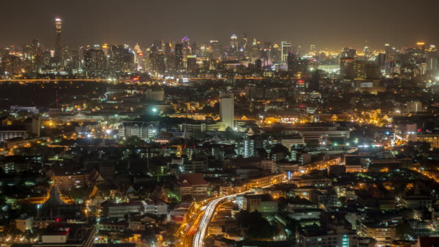 View of Bangkok office business
