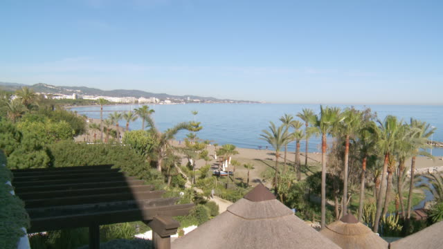 WS View of beach / Marbella, Andalusia, Spain