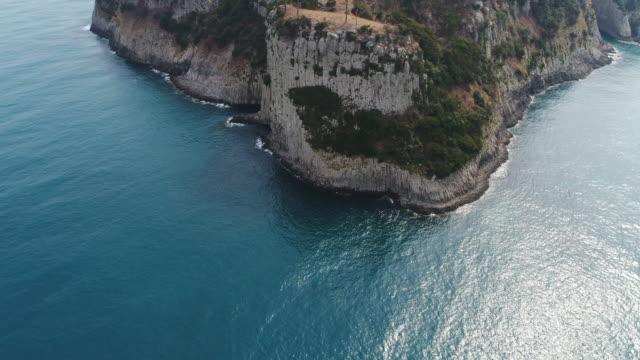 view of beomseom island / seogwipo-si, jeju-do, south korea - boulder rock stock videos & royalty-free footage