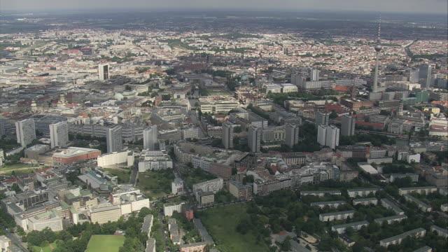 AERIAL View of Berlin, Germany