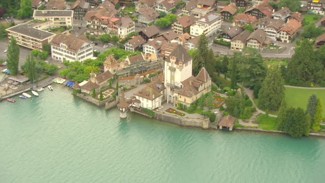 WS AERIAL ZI View of Berns coast (1) / Bern, Switzerland